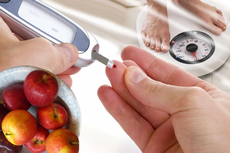 Кровь из пальца, диета, вес