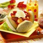 Мороженое фруктового сорта
