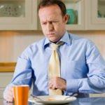 Боль во время приёмов пищи