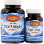 Carlson Labs, Wild Caught, Super Omega-3 Gems