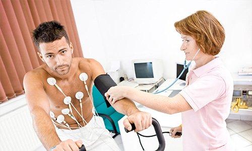 Электрокардиография с нагрузкой
