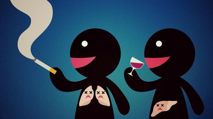 Избавиться от пагубных привычек