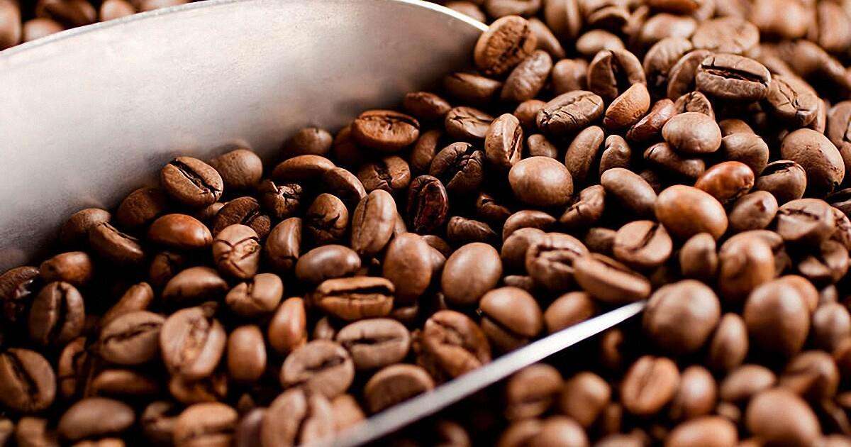 Кофе натуральный в зёрнах