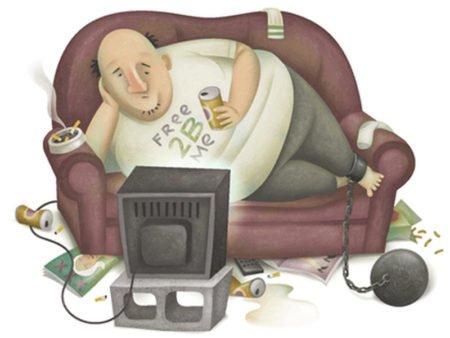 Малоподвижный образ жизни как причина повышения уровня холестерина в крови