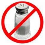 Ограничьте соль