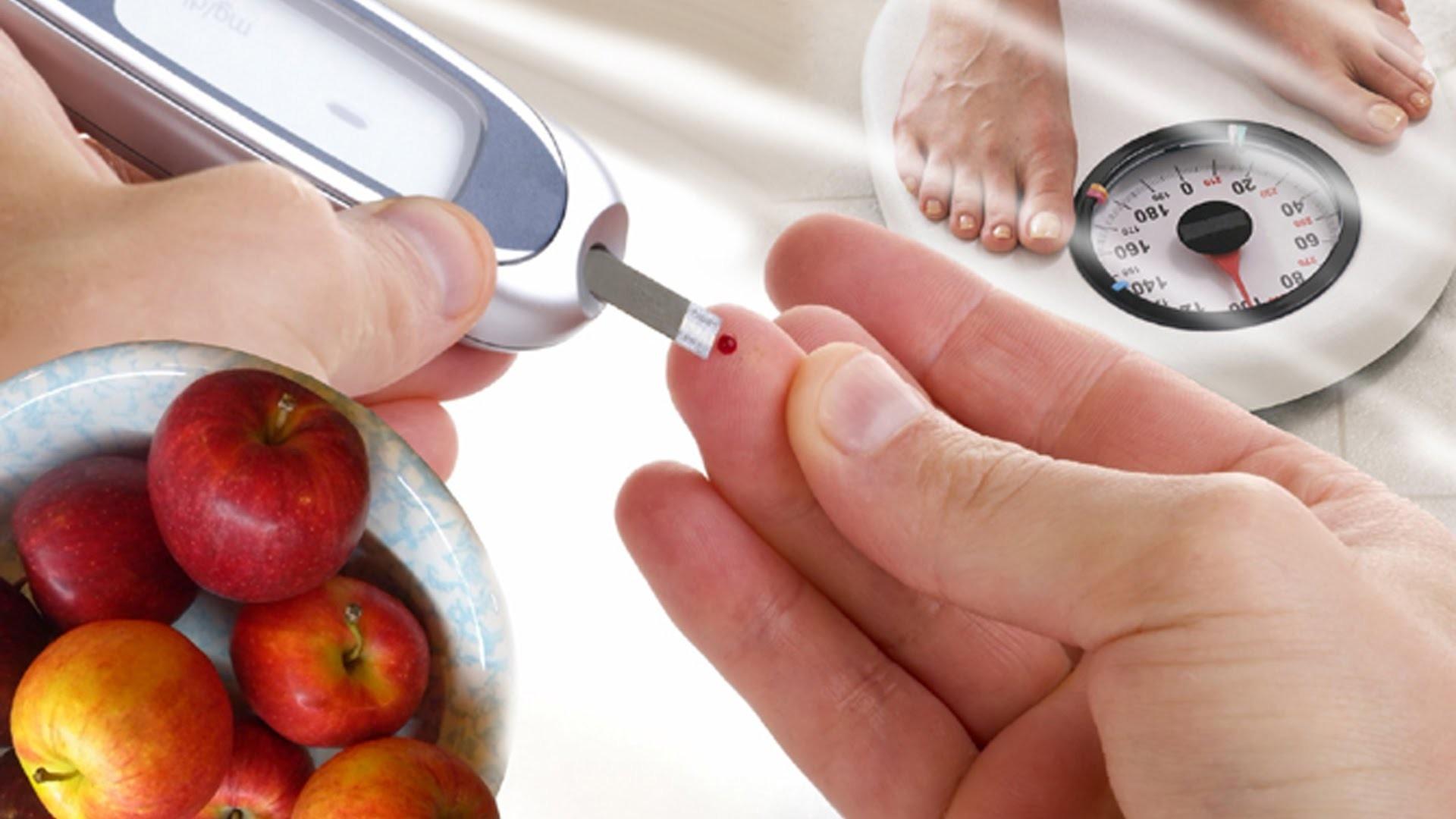 При сахарном диабете обоих типов