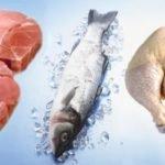 Употреблять рыбу, птицу и телятину
