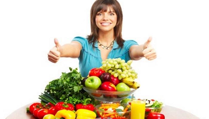 Ввести в рацион максимально количество овощей, зелени и фруктов
