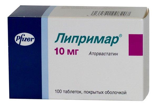 Назначают медикамент Липримар для лечения смешенного типа гиперлипидемия