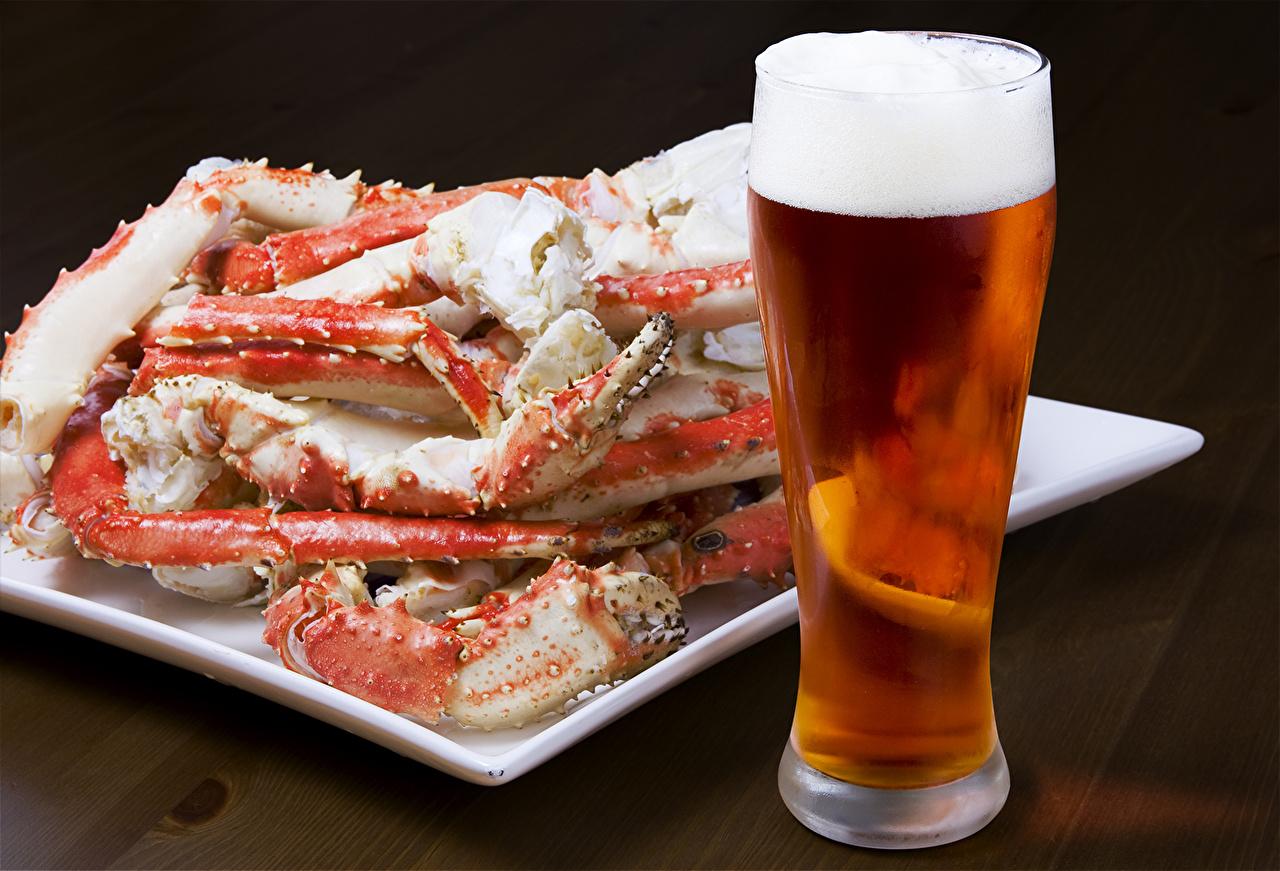 пиво и морепродукты