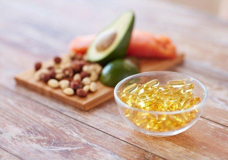 Продукты содержащие растительные кислоты Омега-3